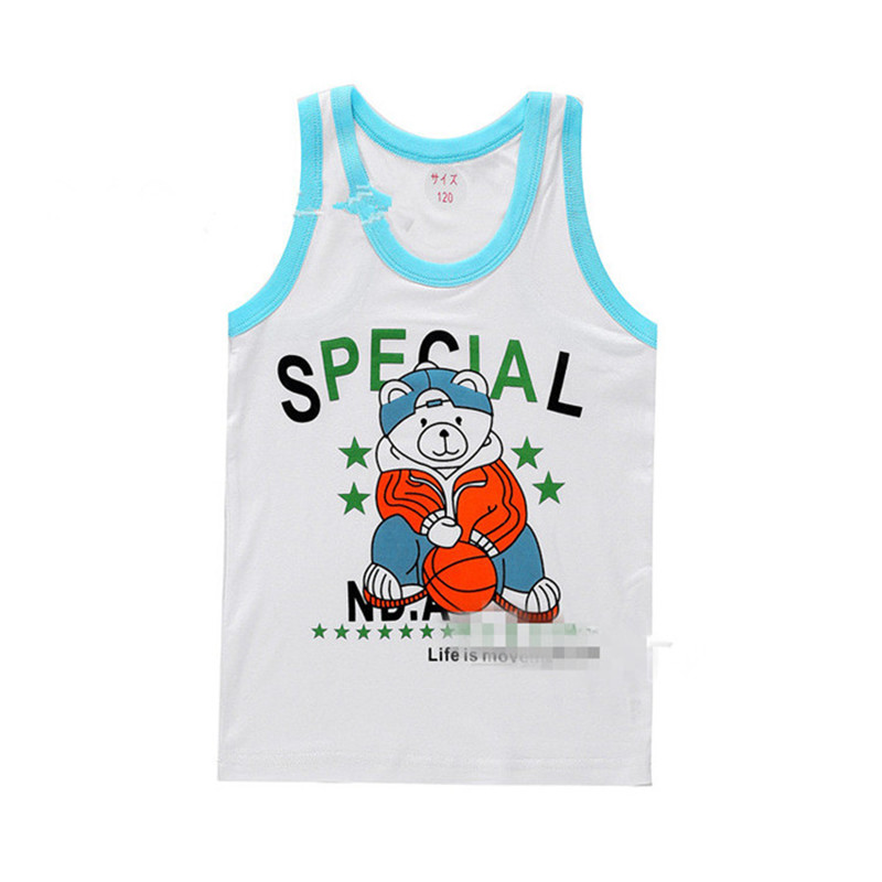 2016 Promotion Limited Character Gilet New Children s Clothing Summer Models Modal Vest B wzd079