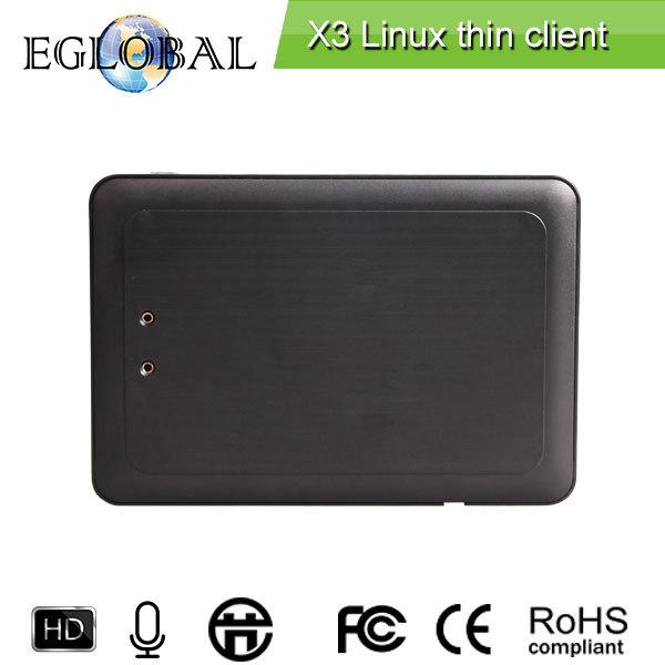 Тонких клиентских терминалов X3 1.5 ГГц для удаленного просмотра мульти пользователи по системе Win8 / окна мульти сервер RDP7.1 протокола 1 ГБ RAM / 4 ГБ флэш