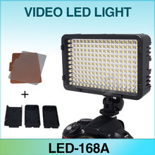 Mcoplus MCO-168 Video LED Light for Canon Nikon Pentax Panasonic Olympus & DV Camcorder Digital SLR Camera