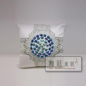 Luxury pillow sofa cushion kaozhen waist support pillow fashion 45