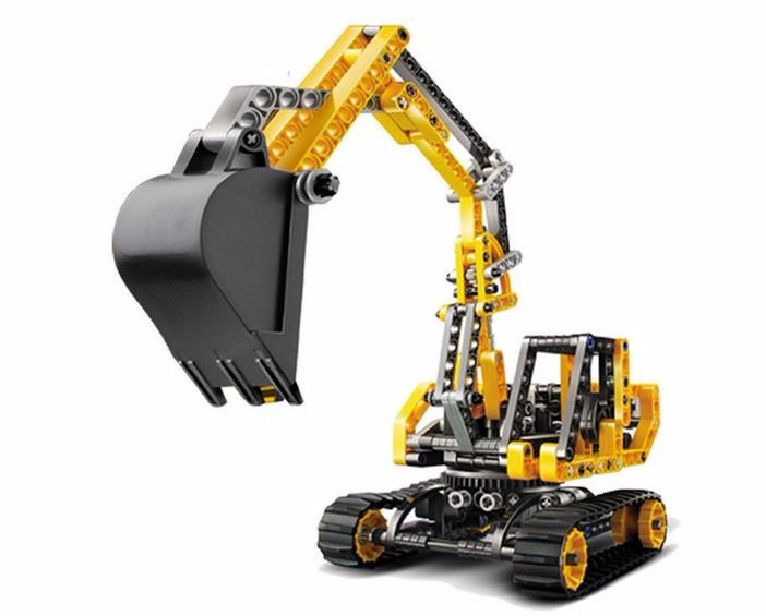 UKLego Technic City Series Excavator Building Blocks Bricks Model Kids Toy.