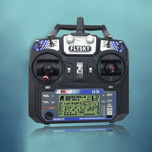 Flysky FS-i6 FS I6 2 4G 6ch RC Transmitter Controller w/ FS