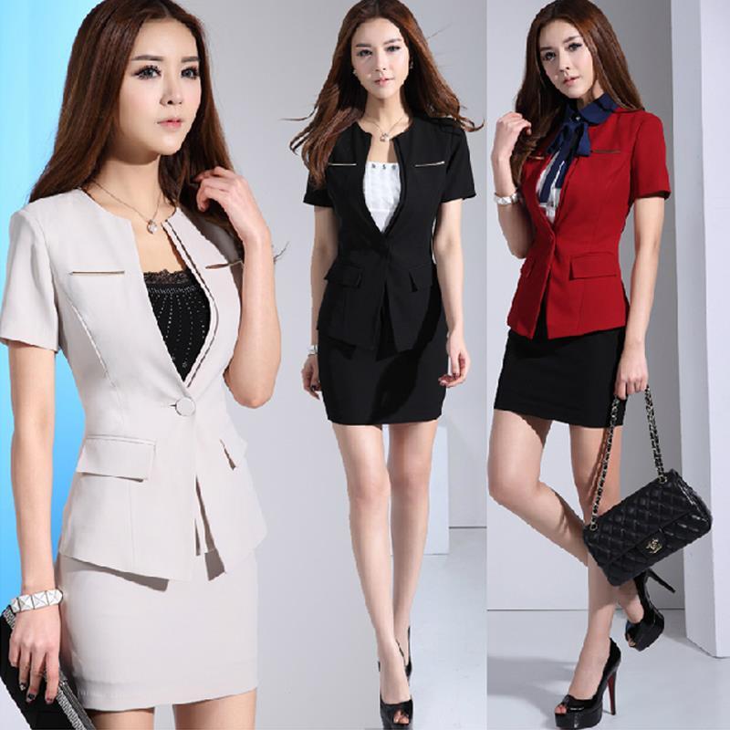 Офис леди формальный костюм единая косметолог комбинезоны лето женская одежда костюм, Рабочая одежда сексуальная