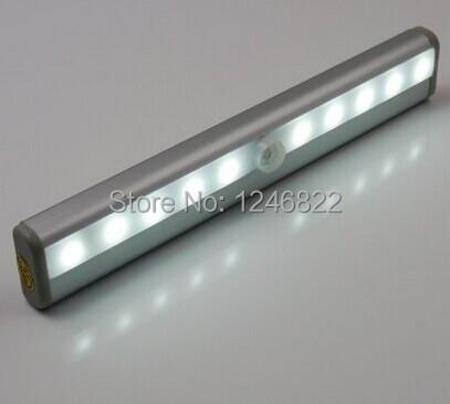 smart motion sensing closet cabinet led step light bar with magnetic strip battery operated in. Black Bedroom Furniture Sets. Home Design Ideas