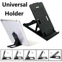 Car phone Holder For Iphone 6 4 5s plus Samsung S5/4/3 GPS Smartphone Adjustable Tablet PC Stand for iPad 2 3 4 5 Mini Air Black