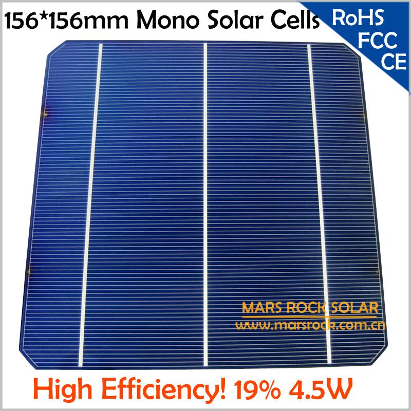 20pcs Lot 4 5w 0 5v 156x156mm Solar Cell Photovoltaic 19