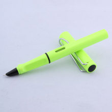Высококачественная модная популярная чернильная ручка, пластиковая цветная Классическая Ручка, деловые канцелярские принадлежности, офис...(Китай)