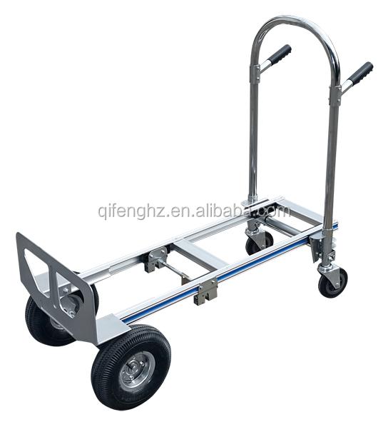 chariot pliable 4 roues courroie de transport. Black Bedroom Furniture Sets. Home Design Ideas
