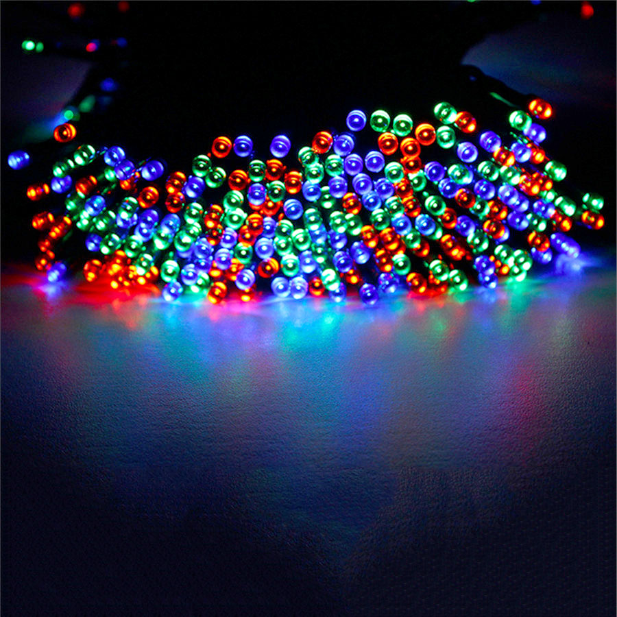 40m 400leds solar powered led garden lights fairy string - Decorative garden lights solar powered ...