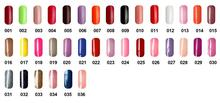 12pcs VOG fashion One Step Soak Off Beautiful Gel Polish 15ml 36 colors for choices
