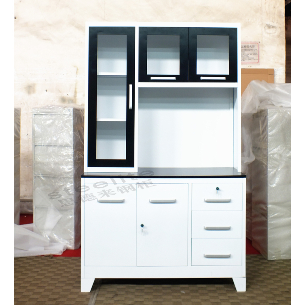 Wall Mounted Kitchen Cabinets: Wall Mounted Kitchen Cabinet Metal Drawers Aluminum