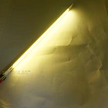 Светодиодная лампа COB, 12 в пост. Тока, 1000 лм, 10 Вт, 200*10 мм, теплая, чистая, белая, синяя, красная, зеленая, желтая(Китай)