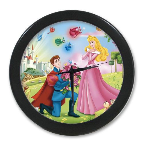 Hot Sales <font><b>Home</b></font> <font><b>Decoration</b></font> Customized Classic Cartoon Princess Sleeping Beauty <font><b>Elegant</b></font> Wall Clock Modern Design Watch Wall Free S