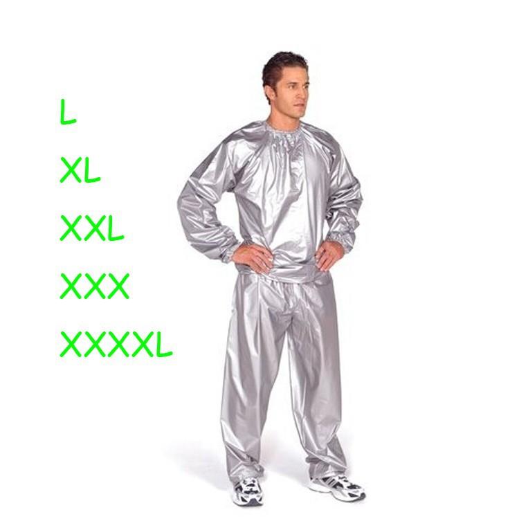 Wholesale Pvc Silver Or Black Women Or Men Sauna Suit