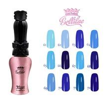 Free shipping 6 pcs FeiFan Gel Nail Polish 15ml 12 beautiful colors for Royal Blue Series
