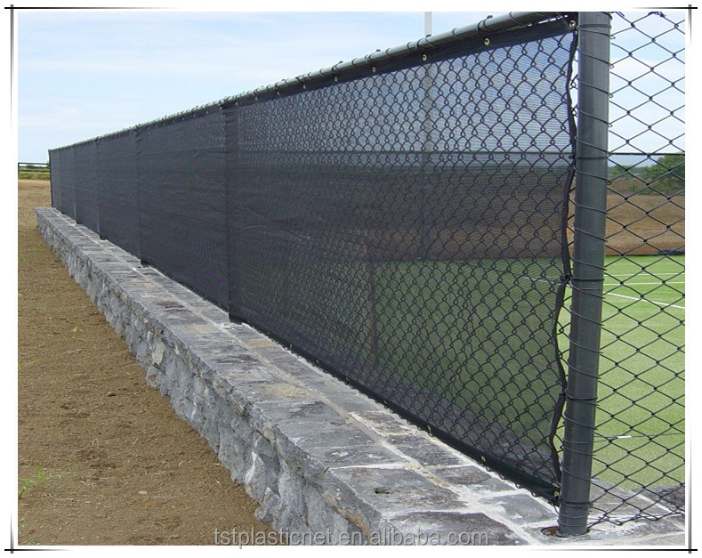 Black Dark Green And Tan Color Privacy Fence Screen