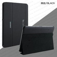 2016 new Business Ultra Slim Thin Leather Case BOOK Cases For Samsung Galaxy Tab 2 10.1 P5100 P5110 P7500 + stylus