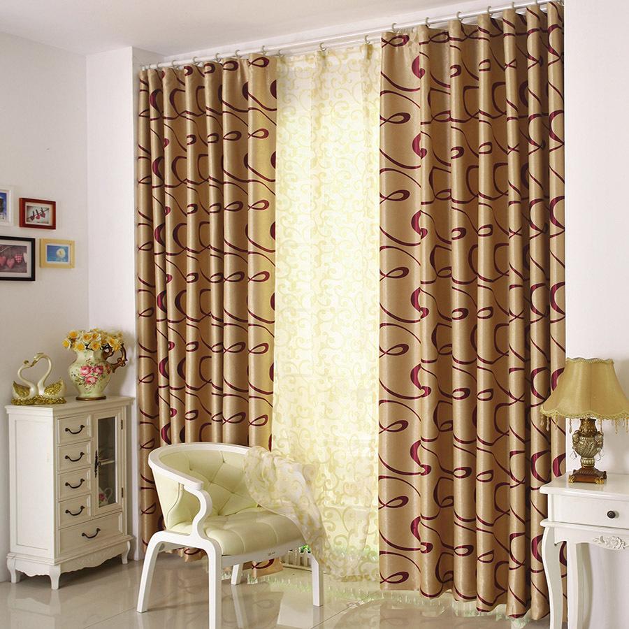 double rideaux moderne une haute dcoration voir ce double rideaux occultant sur luimage comme. Black Bedroom Furniture Sets. Home Design Ideas