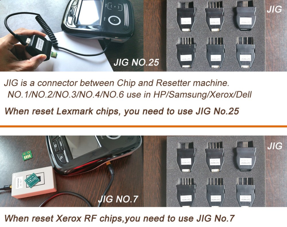 Compatible Chip Resetter for Lexmark MS/MX series MS310 MS510 MS610 MS710  MS711 MS810 MS811 MX310 MX410 510 toner chip resetter