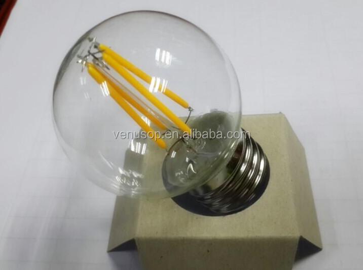 Dimmable E27 Led G50 Filament Light Bulb Ce Amp Rohs G50 Led