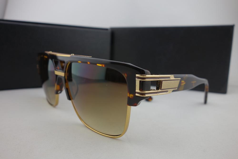 64e1a542f4fe dita Sunglasses Men Brand Designer 10th Anniversary Oculos De Sol Masculino  Retail Packing Box Dita Grandmaster ...