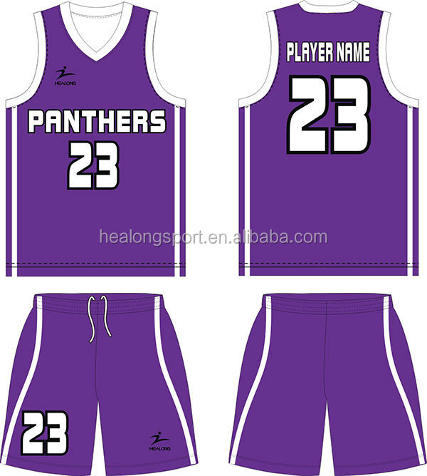 6b7770ee8b2 basketball jersey design violet - Pairs and Spares