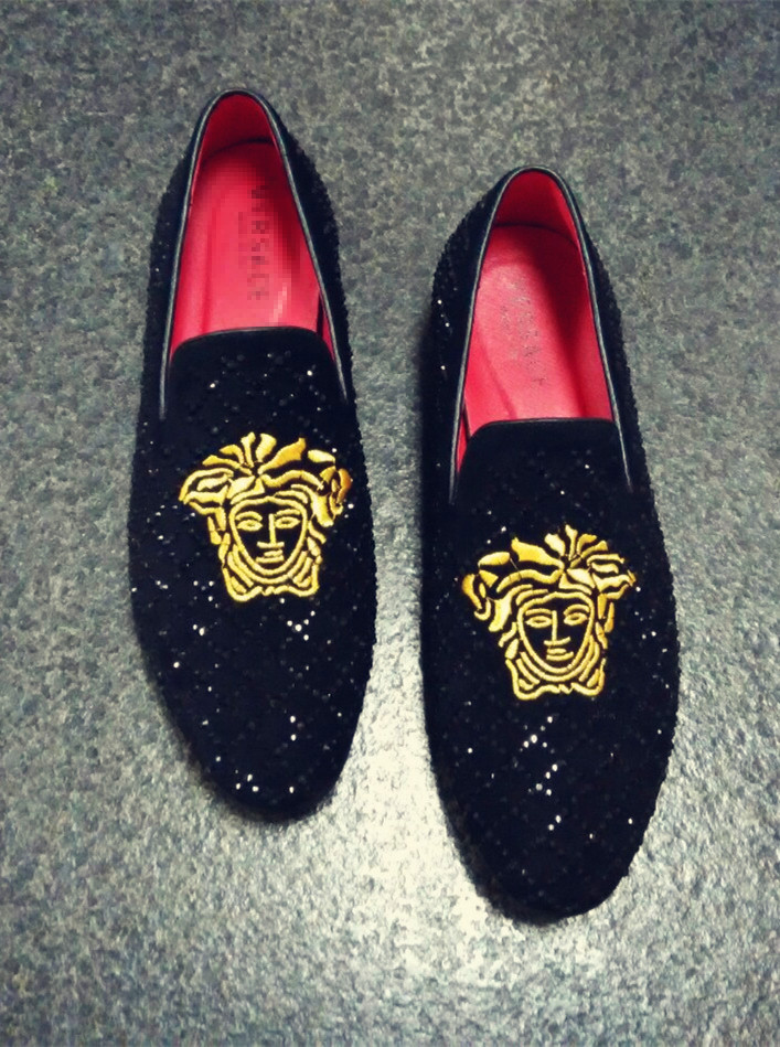 Mens Red Bottom Loafers Louis Vuitton Replica Shoes For Men