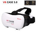 2016 Google Cardboard VR CASE 5 0 VR BOX Smartphone Headset 3D Virtual Reality Glasses Helmet