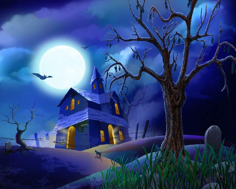 Commentaires Halloween Cimetière