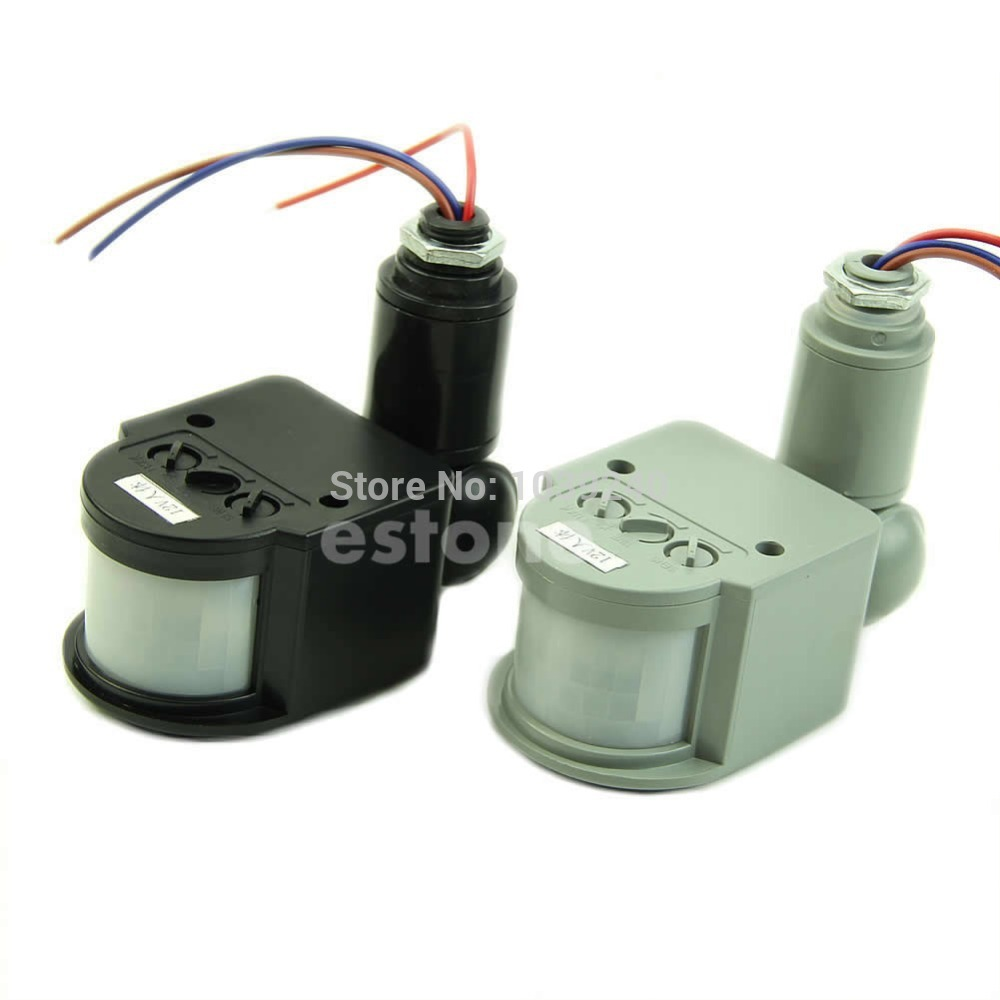 Free shipping 12M 85-265V Security PIR Infrared Motion