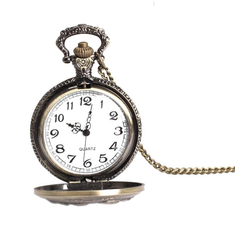 Elegant Retro watches Large Face sailboat Pocket Watch ...