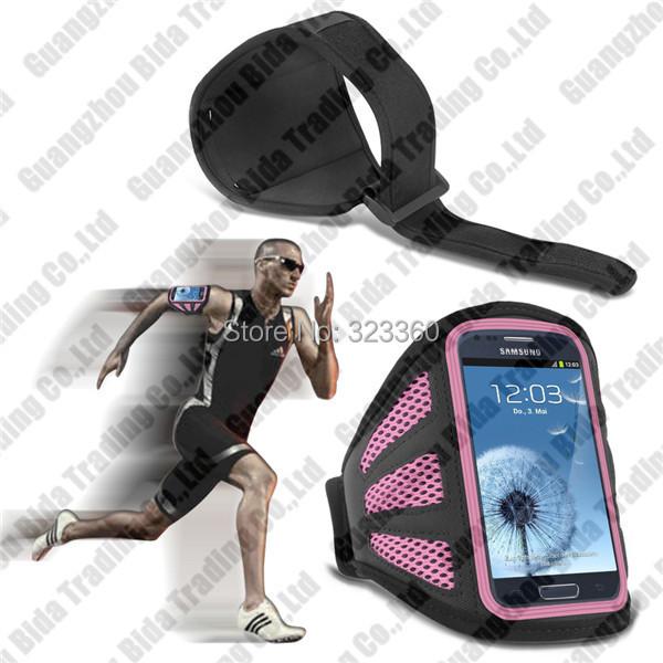 Спортивный зал фитнес-упражнения сетки повязки чехол для Samsung S3 мини-i8190 под управлением крышка мешки мешка с бесплатная доставка