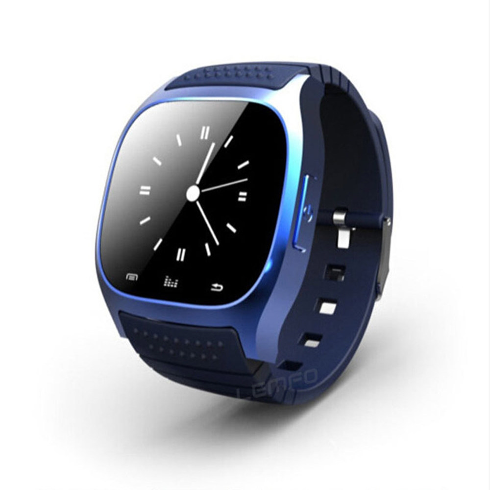 Bluetooth Smart Watch M26 Smartwatch Intelligent Clock Altimeter Pedometer Anti Lost for Android IOS Mobile Phone