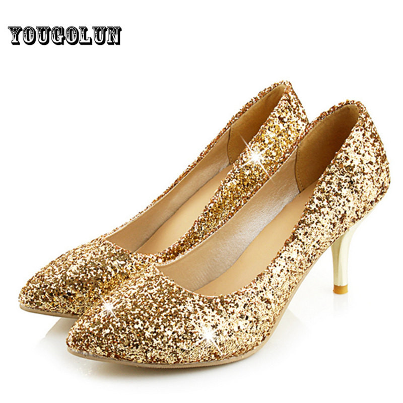 Gold Occasion Shoes Uk