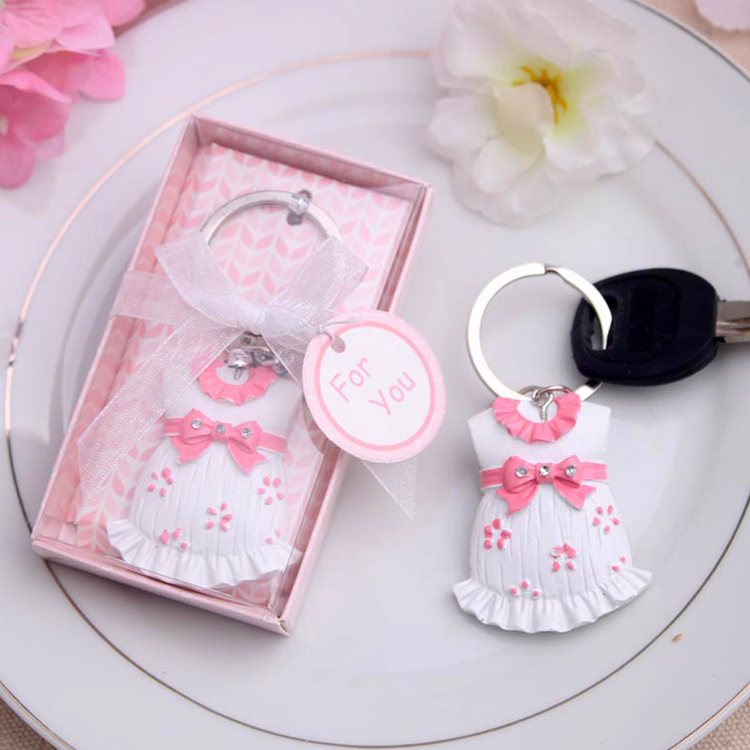 Baby Showers Gifts For Guests: Baby Boy Baby Girl Keychain Wedding Bridal Baby Shower