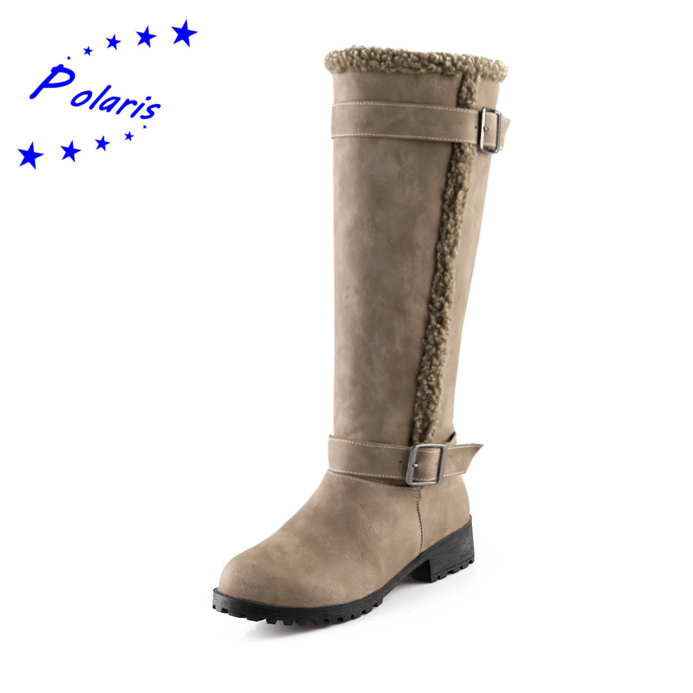 Aliexpress.com : Buy Plus Size 34 43 Women's Boots Fashion ...