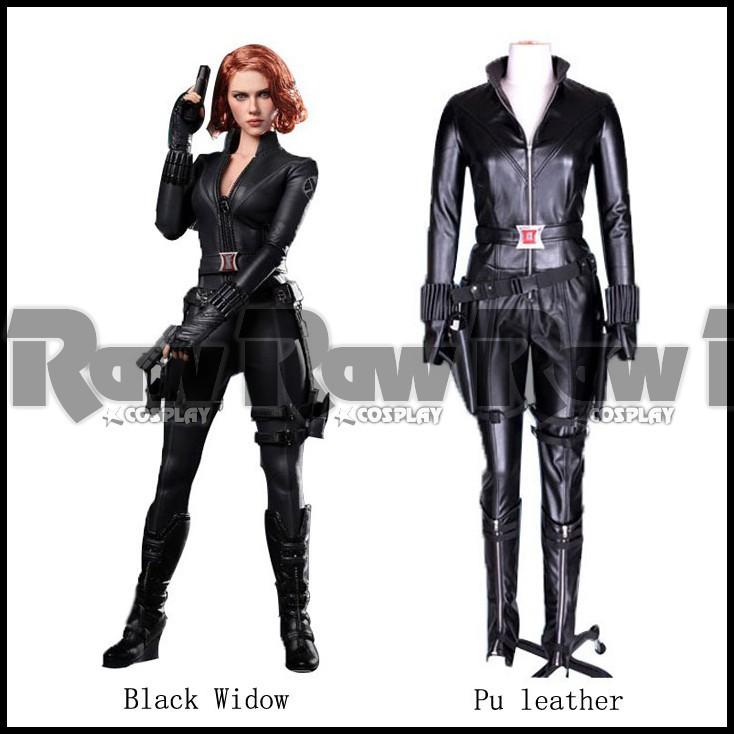 The-Avengers-2-Natasha-Romanoff-Cosplay-Costume-Black ...
