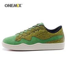 ONEMIX мужская обувь для ходьбы, мужские кроссовки из микрофибры, хорошие дорожные тренды, обувь для скейтбординга, серая теннисная Уличная об...(Китай)