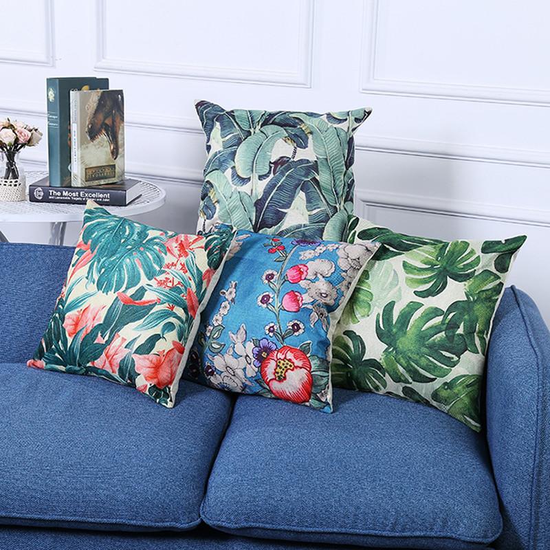 vert feuille oreiller promotion achetez des vert feuille oreiller promotionnels sur aliexpress. Black Bedroom Furniture Sets. Home Design Ideas