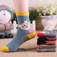 Warm soft cotton baby boys girls socks baby clothing accessories booties floor infant socks homewear 2pair