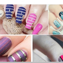 35 colors rolls striping tape line nail art sticker beauty decal for stickers Nails Rolls Striping
