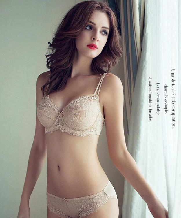 c69c14def76 2019 Wholesale Women S Sexy Vs Bra Set Lace Underwear Adjustable ...