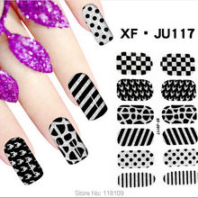 117122 Pegatinas Unas Sticker Ongle Finger nail stickers adesivi unghie colla per foil unhas Nail Polish Film Nails Art Stickers