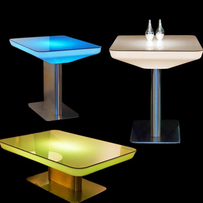 table basse bar a led. Black Bedroom Furniture Sets. Home Design Ideas