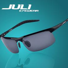 2014 Male Sunglasses Polarized Gafas Aluminum Magnesium Alloy Polaroid Sunglasses Men Women Brand Designer Driving Oculos 8177