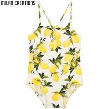 Girls Swimsuit Toddler Swimwear Summer 2016 Brand Baby Girl Swimwear Kids Bathing Suit Poppy Floral Print