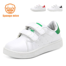 Hot  New fashion children s sneakers boys girls running shoes Casual shoes baby toddler white