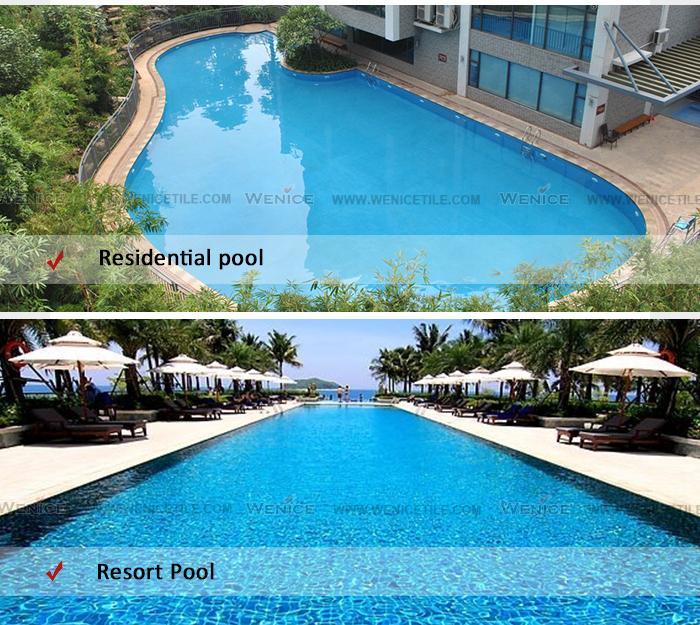 Non slip swimming pool ceramic tile alibaba in spain view - Non slip tiles for swimming pools ...