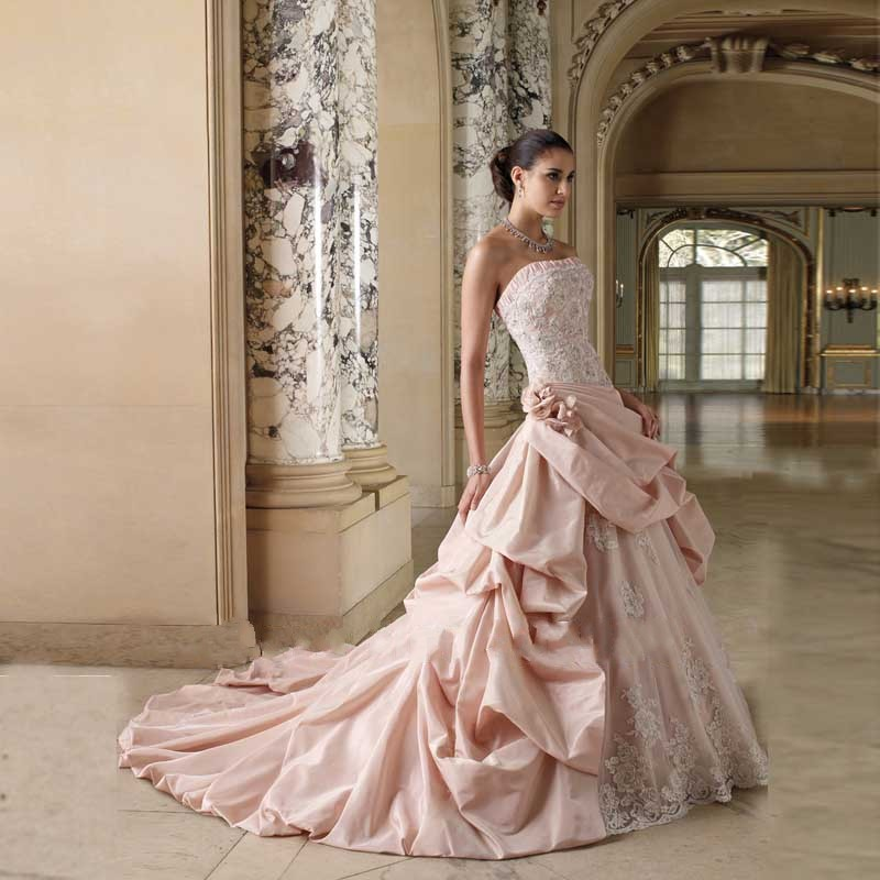 Newly Best Seller Ball Gown Bridal Dresses Strapless
