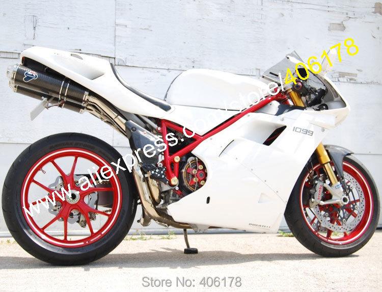 Горячие продаж, для 96 97 98 99 00 01 02 Ducati 996 748 обтекатели 1996-2002 белый послепродажного мотоциклов обтекателя ( литье под давлением )